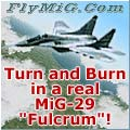 Turn and Burn in MiG-29